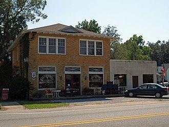 Silverhill, Alabama - Image: State Bank Silverhill Sept 2012 02
