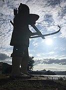 Statue at Kaeng Khut Khu 3.jpg