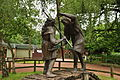 Statue of Robin Hood and Little John in Sherwood Forest (9466).jpg