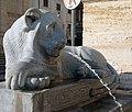 Statue of lion on fontana dell'Acqua Felice (Rome).jpg