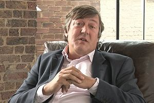 Rector of the University of Dundee - Stephen Fry