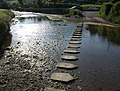 Stepping stones, South Pool - geograph.org.uk - 847076.jpg