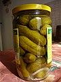 Sterilovaná zelenina - okurky v sladkokyselém nálevu.jpg