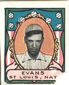 Steve Evans, St. Louis Cardinals, baseball card portrait LCCN2007683844.tif