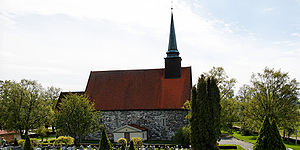 Stiklestad Church - Image: Stiklestad kirke 2