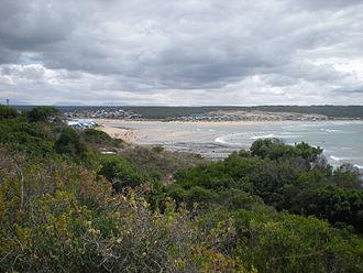 Stilbaai - Image: Stilbaai (Western Cape), with Goukou river
