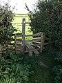 Stile near Ilton Castle Farm - geograph.org.uk - 1523037.jpg
