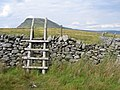 Stile on the way to Pen y Ghent - geograph.org.uk - 1402338.jpg