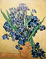 Still Life - Vase with Irises against a yellow background (JH 1977) - My Dream.jpg