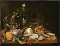 Still Life with Wine, Fruit and Oysters (Jan Davidsz. de Heem) - Nationalmuseum - 17456.tif