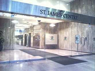 Police Integrity Commission - The St. James Centre in Elizabeth Street, Sydney where the Police Integrity Commission is based.