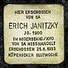 Stolperstein.Köpenick.Schmausstraße 2.Erich Janitzky.1462.jpg