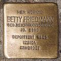 Stolperstein Betty Friedmann by 2eight 3SC1344.jpg