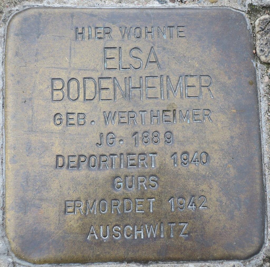 Stolperstein Elsa Bodenheimer Kehl.jpg