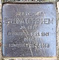 Stolperstein Hektorstr 9 (Halsee) Balbina Oppenheim.jpg