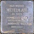 Stolperstein Köln, Wilhelm Ast (Goltsteinstraße 144).jpg