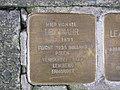 Stolperstein Leo Mahr, 1, Oberste Gasse 14, Mitte, Kassel.jpg