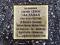 Stolperstein Sarah Lewin 88 rue Dalayrac Fontenay Bois 2.jpg