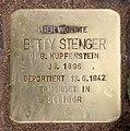 Stolperstein Seesener Str 50 (Halsee) Betty Stenger.jpg