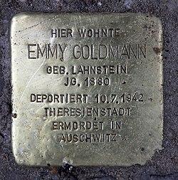 Stolperstein uhlandstr 155 (wilmd) emmy goldmann