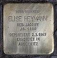 Stolperstein Westfälische Str 62 (Halsee) Elise Heymann.jpg