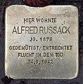 Stolperstein Westfälische Str 85 (Wilmd) Alfred Russack.jpg