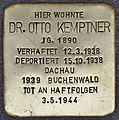 Stolperstein für Dr. Otto Kemptner (Salzburg).jpg