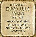 Stolperstein für Eduard Julius Bogman (Den Haag).jpg