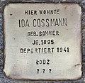 Stolperstein für Ida Cossmann (Köln).jpg