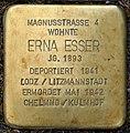 Stolpersteine Köln, Erna Esser (Magnusstraße 4).jpg
