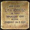 Stolpersteine Köln, Erna Horwitz (Brüsseler Straße 89).jpg