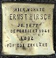 Stolpersteine Köln, Ernst Hirsch (Aachener Straße 28).jpg