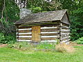 Stover-Winger farm log cabin.JPG
