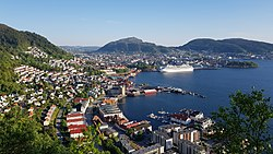 Strøket Sandviken i Bergen sett fra Sandviksbatteriet.jpg