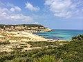 Strand Agulla in Calla Mesquida, Mallorca (22038339299).jpg