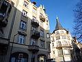 Strasbourg, 3 rue Sellénick et Palais des Fêtes.JPG