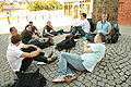 Strategic planning open space meeting at Wikimania 2010.jpg