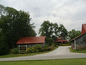 Stream Cliff Farm - Entrance to Stream Cliff Farm