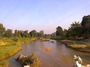 Kanker, Chhattisgarh - Image: Stream that joins Dood river Kanker district