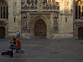 Street artist in front of the Bath abbey.jpg