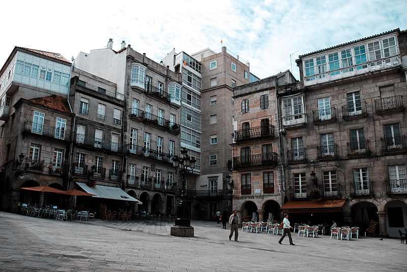 File:Streets of Vigo, Galicia, Spain,Southwestern Europe.jpg