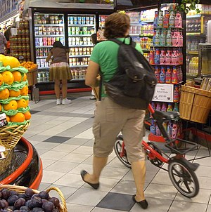 Small-wheel bicycle - Small wheels may be welcome indoors, where large wheels are not welcome, for example, in a grocery