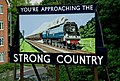 Strong Country advertisement at Alton Railway Station - geograph.org.uk - 1417430.jpg