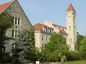 Bernard Vonnegut I - Image: Student Building IU Bloomington