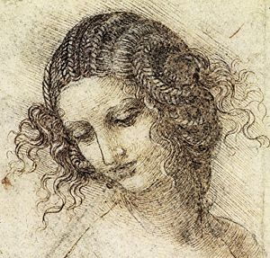 Study for the head of Leda, Leonardo, c.
