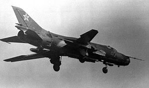 Sukhoi Su-17 - A Soviet Su-17M.