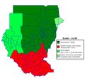Sudan politicaly distrikt map Jul2006.png