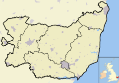 Tunstall is located in Suffolk