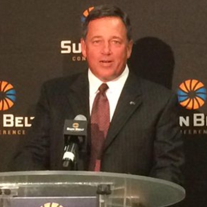 Todd Berry - Berry at the 2015 Sun Belt Media Day