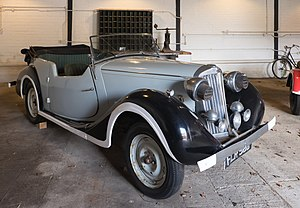Enigma (2001 film) - The Sunbeam-Talbot 2-litre driven by the character Tom Jericho in the film